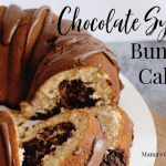 Chocolate Syrup Bundt Cake