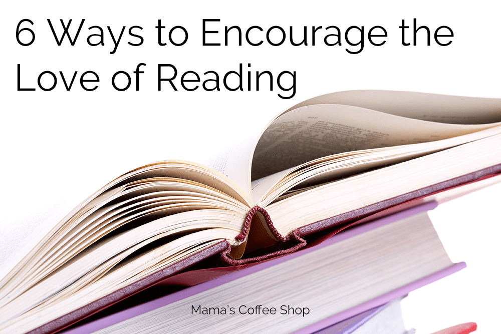 encourage the love of reading