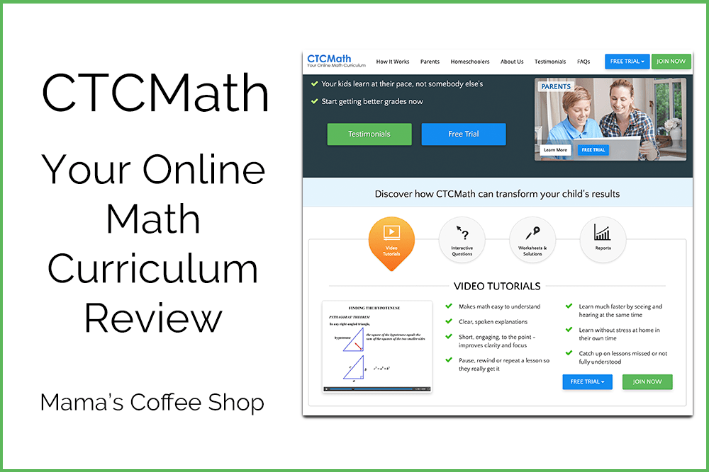 CTCMath Online Math Program