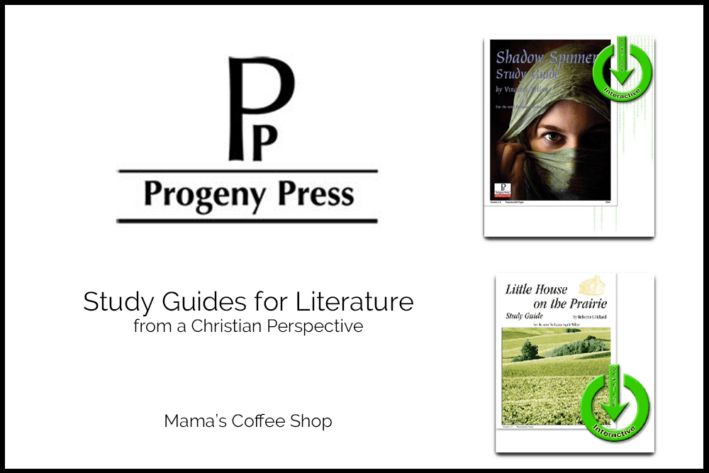 Progeny Press Literature Study Guides {Review}