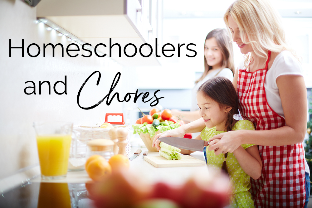 Homeschoolers and Chores