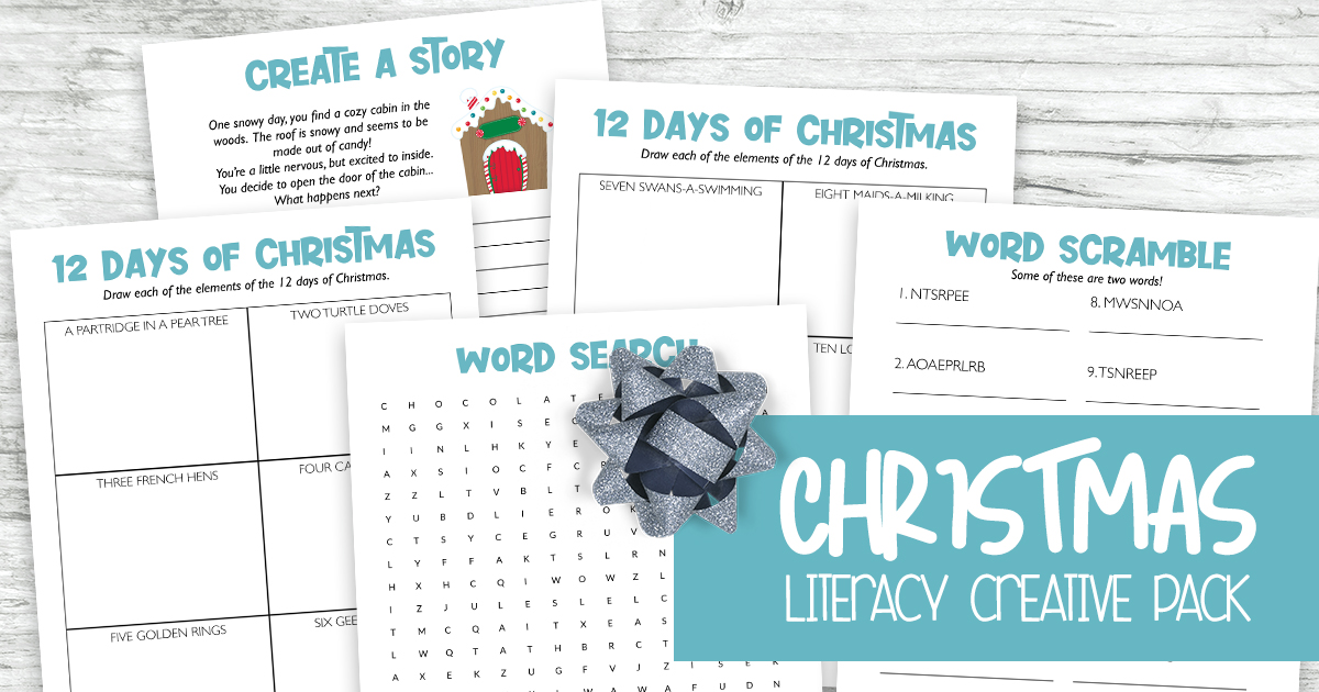 Christmas Literacy Creative Pack