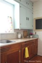 painted farmhouse kitchen