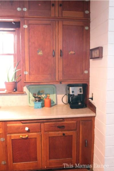 Original Farmhouse cabinets