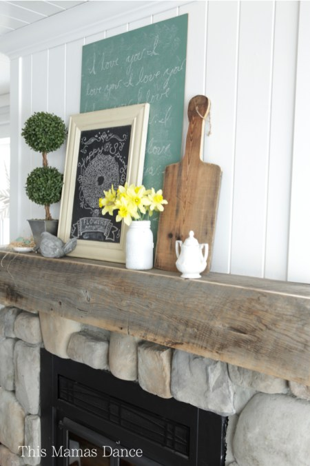 cottage mantle