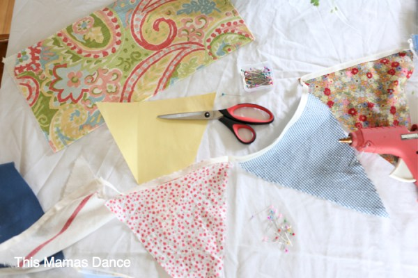 No Sew Bunting Instructions