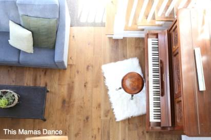 living room overhead