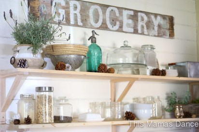 open shelves farmhouse kitchen-1