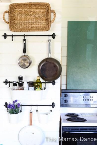 open shelves farmhouse kitchen-7
