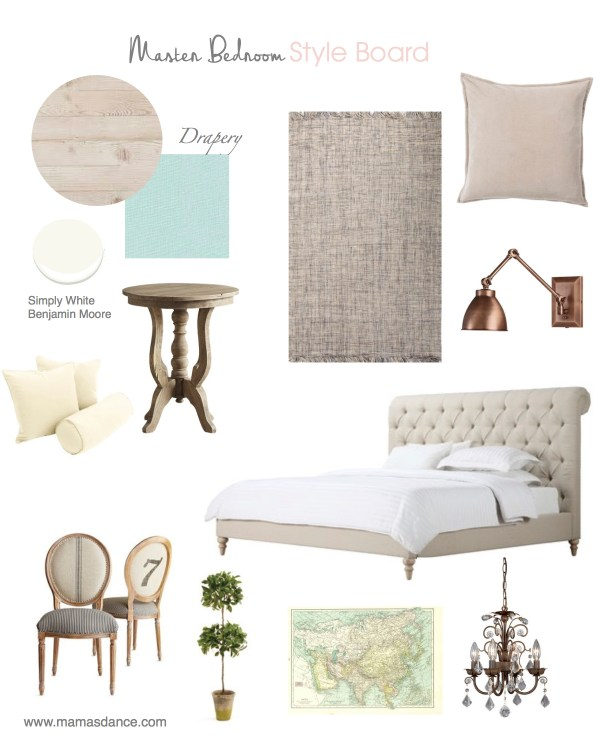 Coastal Cottage Style Board| This Mamas Dance