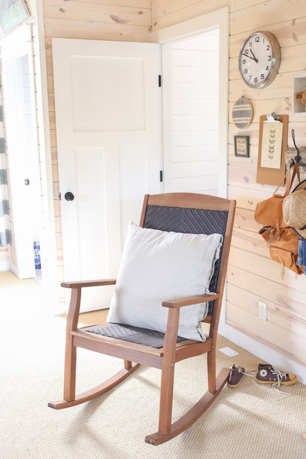 Wood and rattan rocking chair |This Mamas Dance-1