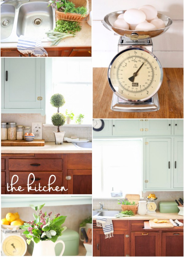 kitchen tour collage