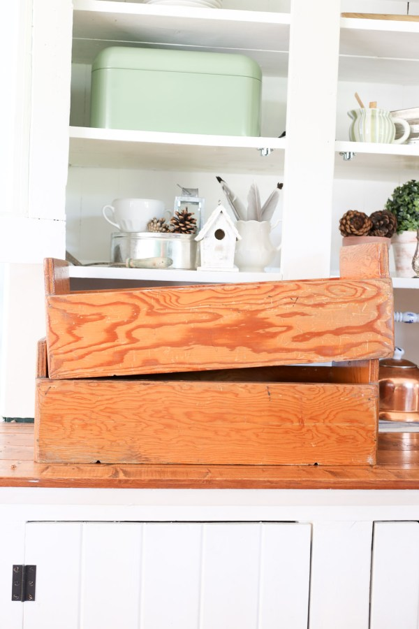 Antique Wood Crate| This Mamas Dance-2