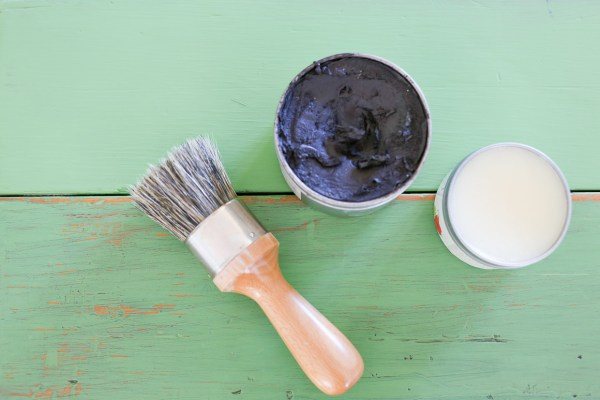 How to Use Antiquing Wax to Age Painted Pieces | This Mamas Dance-2