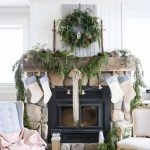 blue-and-cream-christmas-mantle-this-mamas-dance-1