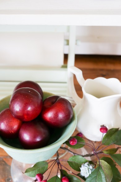 Fall Hutch with Plums and Mint-6