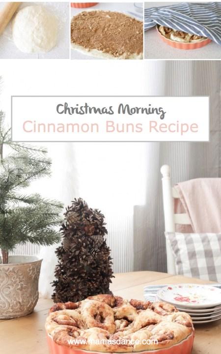 Christmas Morning Cinnamon Bun Recipe   via Ashlea of This Mamas Dance