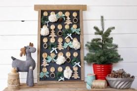 DIY Christmas Advent Calendar | This Mamas Dance for Remodelaholic-2