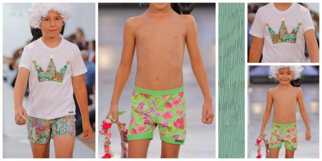 moda baño kids niños canarias fashion week