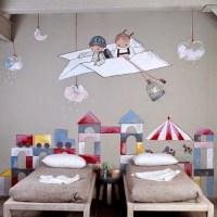 Decoración. Habitaciones Infantiles para Soñar, Viajar y Guardar Tesoros.
