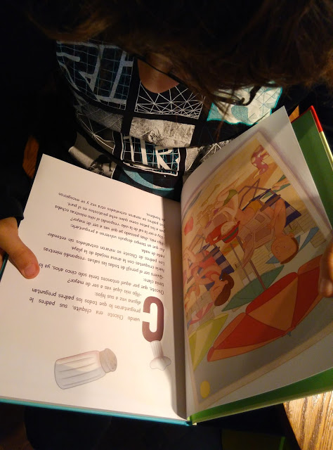 Libro Infantil aventuras afición cocina