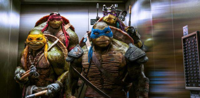 ninja turtles aventuras acción New York