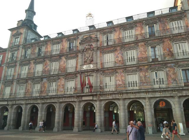 Visita Madrid Plaza Mayor