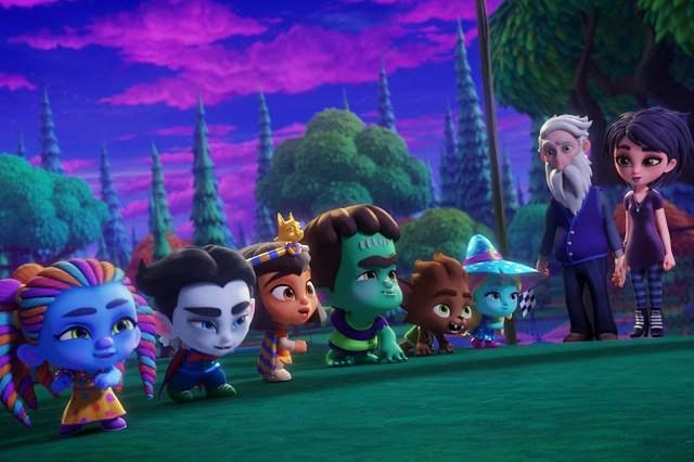 Series animación familia