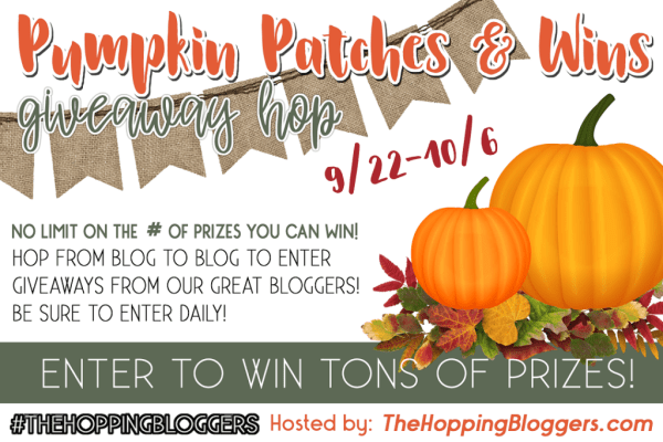 Pumpkin Patches & Wins Giveaway ~ Win a $15 Amazon Gift Card