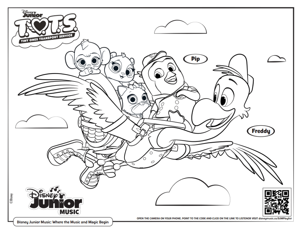 Free Printable Disney Junior Coloring Pages Disney