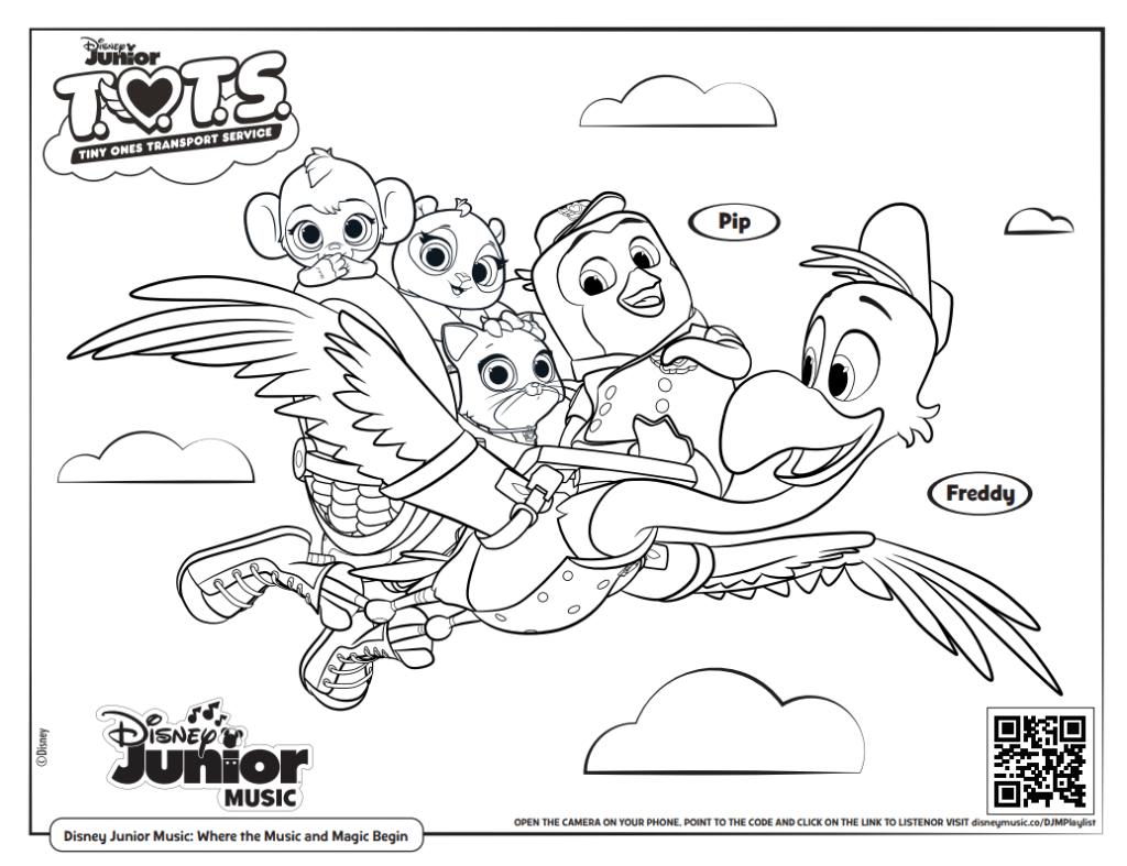 Disney Junior Coloring Pages