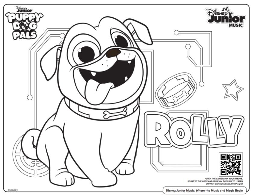 free printable disney junior coloring pages ( disney