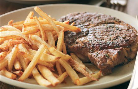 Image result for steak and fries