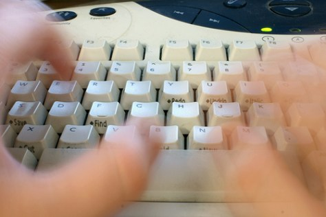 Keyboard with fast hands