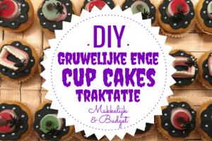 DIY Gruwelijk Enge Cupcakes
