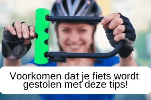 Voorkomen dat je fiets wordt gestolen met deze tips!