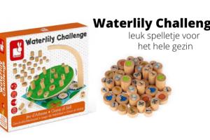 Waterlily Challenge - leuk spelletje voor het hele gezin
