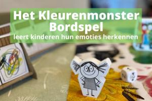 Het Kleurenmonster Bordspel; leert kinderen hun emoties herkennen