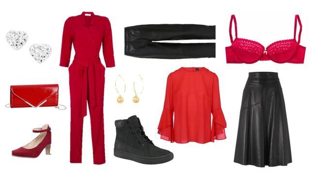 Valentijn outfit - Thuis op de bank