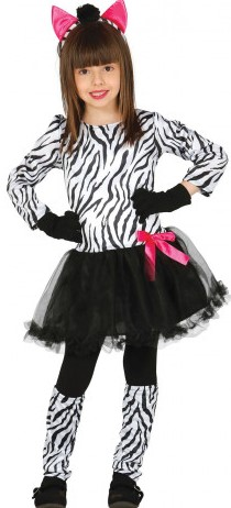 Zebra kostuums