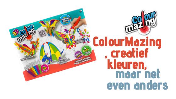 ColourMazing, creatief kleuren, maar net even anders