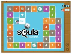 Squla Familiebord spel