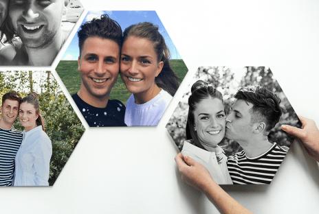 Fotocadeau Hexagon