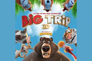 Ga je mee op wild avontuur met Big Trip 3D in de bioscoop