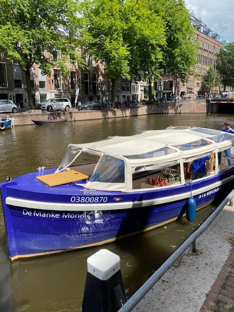 Blogboot - Starboard Boats Amsterdam