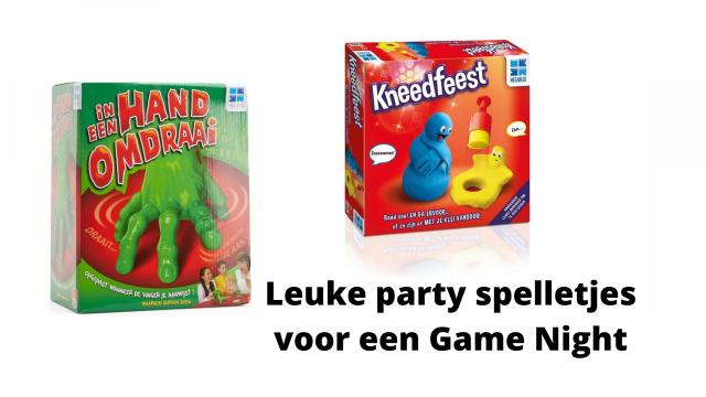 Leuke party spelletjes voor Game Night