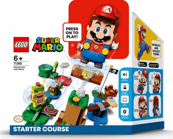 Winnaar Speelgoed van het Jaar 2020Catagorie 6 & 7 jaar -LEGO Avonturen met Mario starter set (LEGO)