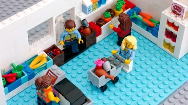 Black Friday Shopping Lego Shutterstock door Ekaterina_Minaeva