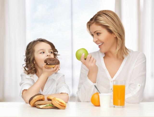 Gezonde voeding, kun je het nog wel goed doen als moeder...