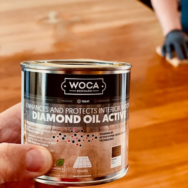 WOCA Diamond Oil Active box